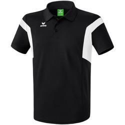 textil Herre Polo-t-shirts m. korte ærmer Erima Polo  Classic Team noir/blanc