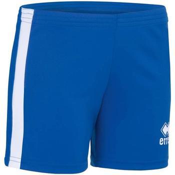 textil Pige Shorts Errea Short femme enfant  Amazon bleu marine/blanc