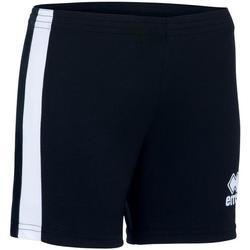 textil Pige Shorts Errea Short femme enfant  Amazon noir/blanc