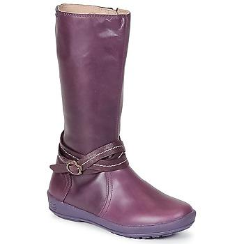Sko Pige Chikke støvler Garvalin TARDA Violet