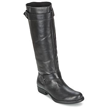 Sko Dame Chikke støvler One Step IANNI Sort