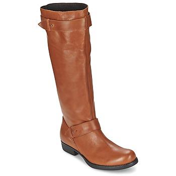 Sko Dame Chikke støvler One Step IANNI KARAMEL