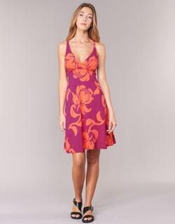 textil Dame Korte kjoler Patagonia AMBER Pink / KORAL