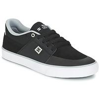 Sko Herre Lave sneakers DC Shoes WES KREMER M SHOE XKSW Sort / Grå / Hvid