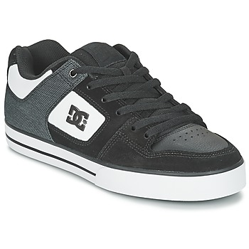 Sko Herre Skatesko DC Shoes PURE SE M SHOE BKW Sort / Hvid