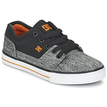 Sko Dreng Lave sneakers DC Shoes TONIK TX SE B SHOE BGY Sort / Grå / Orange
