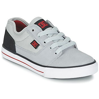 Sko Dreng Lave sneakers DC Shoes TONIK B SHOE XSKR Grå / Sort / Rød