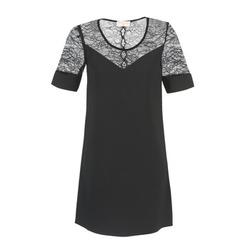textil Dame Korte kjoler Moony Mood FUFU Sort