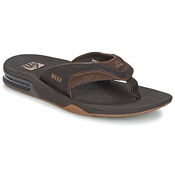 Sko Herre Flip flops Reef LEATHER FANNING Brun