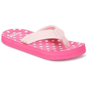 Sko Pige Flip flops Reef LITTLE AHI Pink