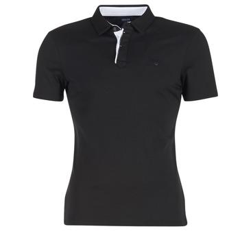 textil Herre Polo-t-shirts m. korte ærmer Armani jeans MEDIFOLA Sort