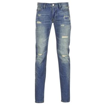 textil Herre Smalle jeans Armani jeans NAKAJOL Blå