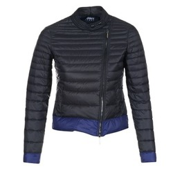 textil Dame Dynejakker Armani jeans BEAUJADO Sort / Blå