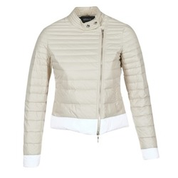 textil Dame Dynejakker Armani jeans BEAUJADO Beige / Hvid