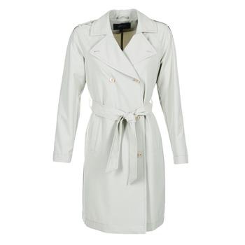 textil Dame Trenchcoats Armani jeans HAVANOMA Hvid