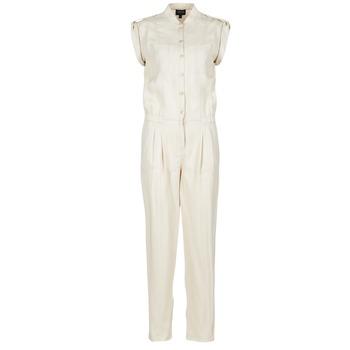 textil Dame Buksedragter / Overalls Armani jeans FOFFIA BEIGE