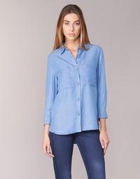 textil Dame Skjorter / Skjortebluser Armani jeans OUSKILA Blå