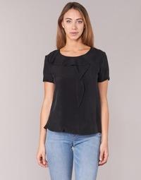 textil Dame Toppe / Bluser Armani jeans GITAMIO Sort