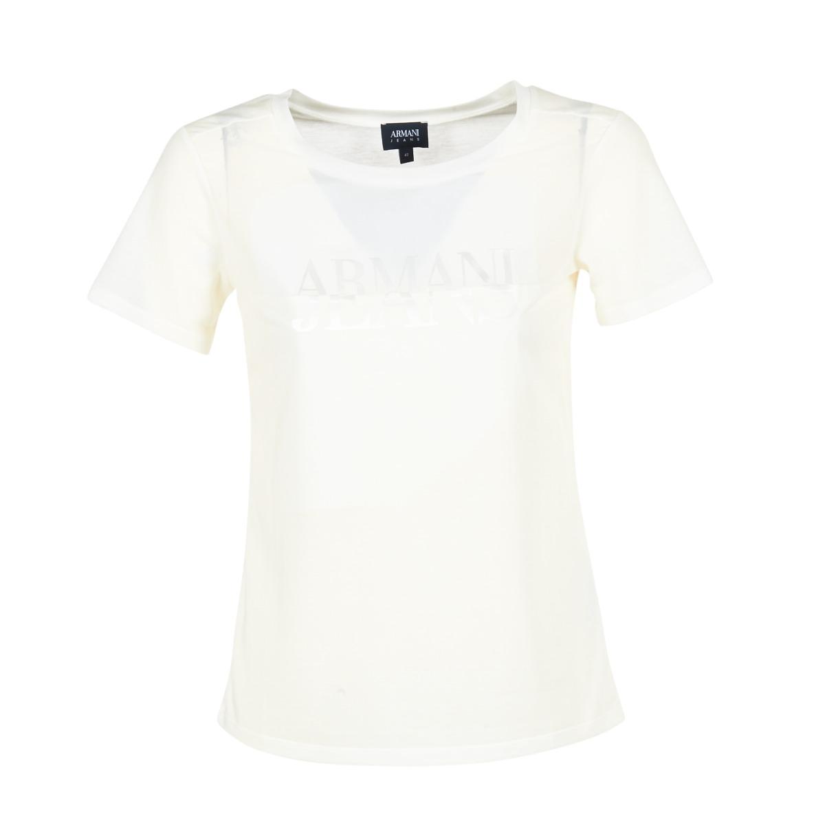 T-shirts m. korte ærmer Armani jeans  KAJOLA