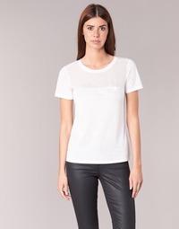 textil Dame T-shirts m. korte ærmer Armani jeans KAJOLA Hvid