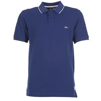 textil Herre Polo-t-shirts m. korte ærmer DC Shoes MILNOR Marineblå
