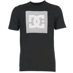 textil Herre T-shirts m. korte ærmer DC Shoes VARIATION SS Sort / Grå / Hvid