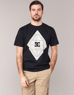textil Herre T-shirts m. korte ærmer DC Shoes LONG DAY SS Sort