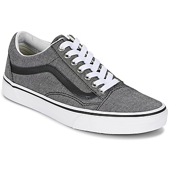 Sko Lave sneakers Vans OLD SKOOL Grå / Sort