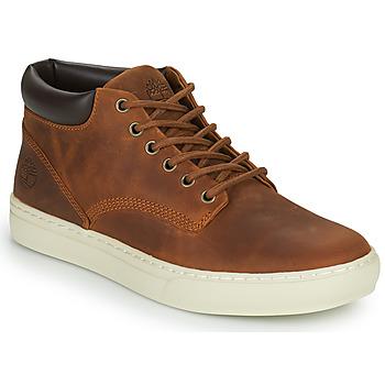 Sko Herre Høje sneakers Timberland ADVENTURE 2.0 CUPSOLE CHK Brun
