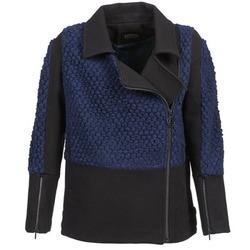 textil Dame Jakker Eleven Paris FLEITZ Sort / Blå