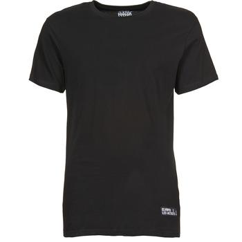 textil Herre T-shirts m. korte ærmer Eleven Paris HALIF Sort