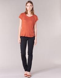 textil Dame Lærredsbukser Pepe jeans VENUS Sort / 999