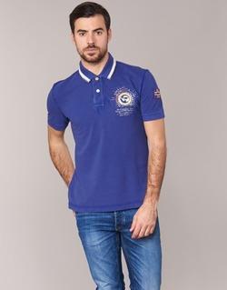 textil Herre Polo-t-shirts m. korte ærmer Napapijri GANDYS Blå