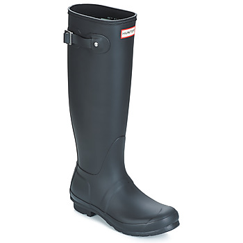 Sko Dame Gummistøvler Hunter WOMEN'S ORIGINAL TALL Sort