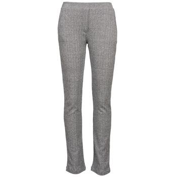 textil Dame Løstsiddende bukser / Haremsbukser Majestic 2908 Grå