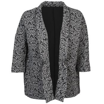 textil Dame Jakker / Blazere Sisley FRANDA Sort / Grå