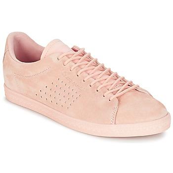 Sko Dame Lave sneakers Le Coq Sportif CHARLINE NUBUCK Pink