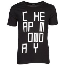 textil Herre T-shirts m. korte ærmer Cheap Monday TYLER Sort