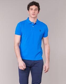 textil Herre Polo-t-shirts m. korte ærmer U.S Polo Assn. INSTITUTIONAL Blå