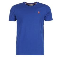 textil Herre T-shirts m. korte ærmer U.S Polo Assn. DBL HORSE Blå