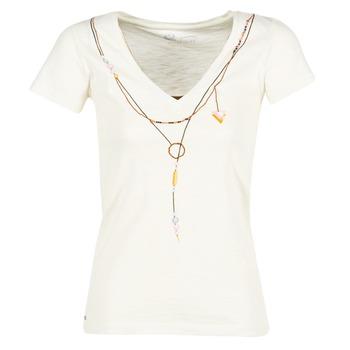 textil Dame T-shirts m. korte ærmer Oxbow TWIN Hvid