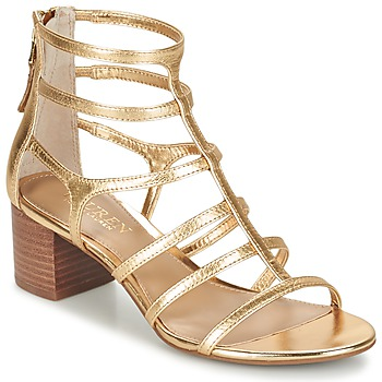 Sko Dame Sandaler Ralph Lauren MADGE SANDALS DRESS Guld