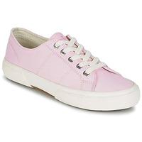 Sko Dame Lave sneakers Lauren Ralph Lauren JOLIE SNEAKERS VULC Pink