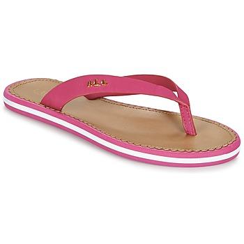 Sko Dame Flip flops Ralph Lauren RYANNE SANDALS CASUAL Pink