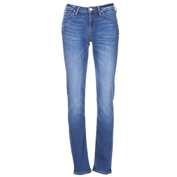 textil Dame Smalle jeans Lee ELLY Blå / Medium