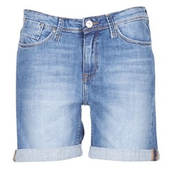 textil Dame Shorts Lee BOYFRIEND SHORT Blå / MEDIUM