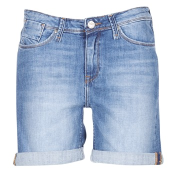 textil Dame Shorts Lee BOYFRIEND SHORT Blå / MEDIUM
