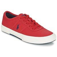 Sko Herre Lave sneakers Ralph Lauren TYRIAN Rød