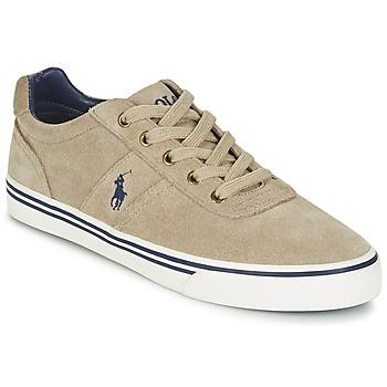 Sko Herre Lave sneakers Polo Ralph Lauren HANFORD Muldvarpegrå