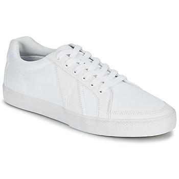 Sko Herre Lave sneakers Ralph Lauren HUGH Hvid